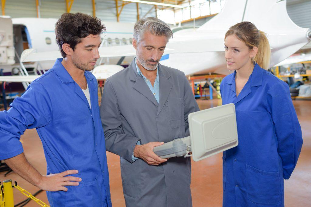 aerospace workers
