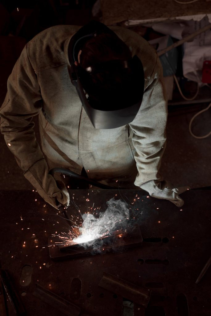 Heavy manufacturing - welding work